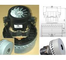 Мотор пылесоса 1200W, H=170mm, D143/78mm, зам.
