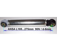 Амортизатор ANSA 90N_185-275mm (втулка-8x24), BOSCH 118869