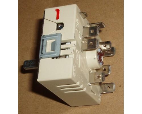 Переключатель мощности белый двухзонный (С расширением в упаковке) EGO 50.55021.100