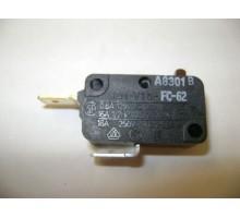 Выключатель (микровыключатель) микроволновой печи Samsung 125/250 VAC, 16A