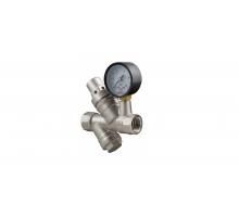 Редуктор давления с манометром и фильтром VT.082.N.04