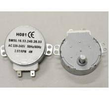 Мотор вращения тарелки СВЧ шток 10мм. H081