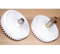 Шестерня мясорубки (D=82mm, H18mm, с металлическим штоком 6граней) для Panasonic Elenberg, Дива, Ротор