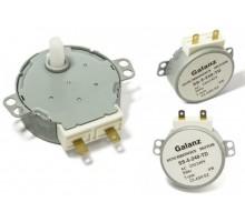 Мотор вращения тарелки СВЧ GALANZ, 4w, 5rpm, шток-13mm