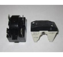 Реле пусковое для холодильника 4 контакта черное HL116
