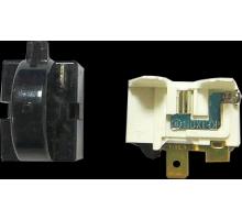Реле пусковое для холодильника 1 контакт черное HL118