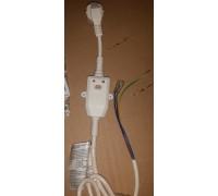 Электрический кабель c УЗО длинна 1000mm клемы под винт