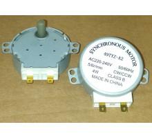 Мотор привода тарелки СВЧ 4W, 5rpm, H=8мм, 49TYZ-A2