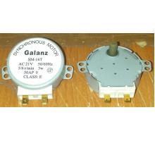 Мотор вращения поддона СВЧ SM- 16T, Galanz 21V 3W 5/6rpm, пластиковый шток