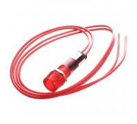 Индикаторная лампа с проводами красная 220V