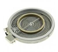 Электроконфорка стеклокерамическая D=230 на 140мм HiLight, 2х зонная