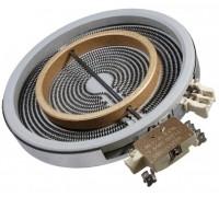 Электроконфорка стеклокерамическая D=200 на 125мм HiLight, 2х зонная