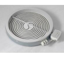 Конфорка стеклокерамическая D=165mm 1200Вт. 2 контакта с термозащитой