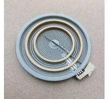 Электроконфорка стеклокерамическая трехзонная Диаметр 195мм ГОРЕНЬЕ