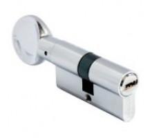 АЛЛЮР HD FG 80-5K СP (35*10*35 СР) хром перф.ключ/верт Цилиндровый механизм (50,10)